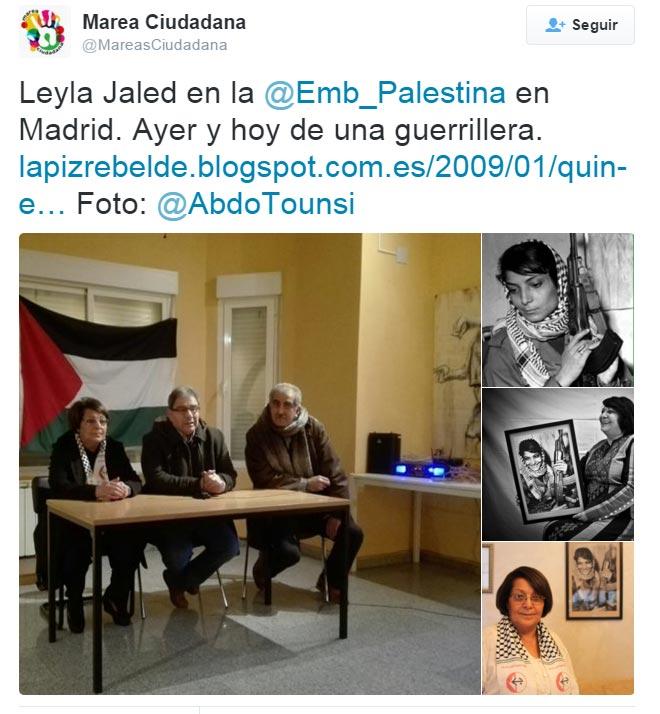 Leila Khaled terrorista