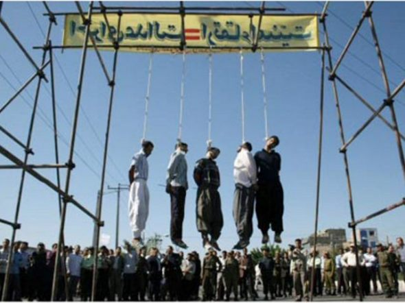 Gay death penalty in Iran